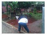 DIjual tanah Jatiwaringin asri masuk dari Sangata belakang sma 5 bekasi Jl Musholla Annur