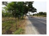 Tanah Strategis di jalan raya utama yogyakarta-solo (dekat solo)