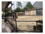 Disewakan tanah di JL. PLN Raya Cinere Depok - pinggir jalan raya - 240 M2