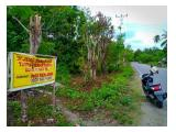 Dijual tanah 5.567 m2, SHM, lokasi strategis, di Luwuk Banggai Sulteng